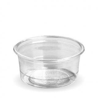 BIOPAK 90ml SAUCE CUP - (takes C-76 Lid) - clear - 2000 - CTN ( R-90 )