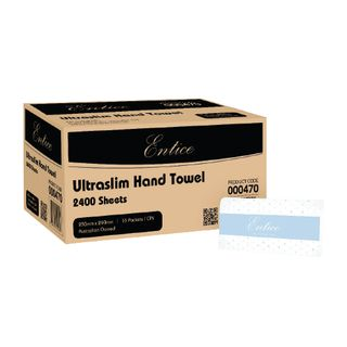 ENTICE ULTRASLIM INTERLEAF HAND TOWEL ( 000470 ) - 2400 - CTN