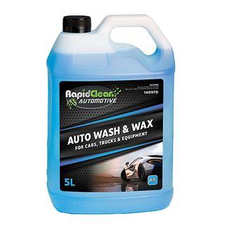 RAPID CLEAN AUTO WASH & WAX ( A5 ) - 5L