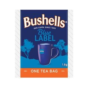 BUSHELLS BLUE LABEL ENVELOPED TEA CUP BAGS  - 100 - PKT ( 67821649 )