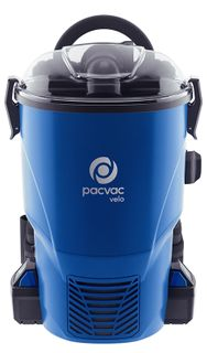 PACVAC VELO COMPACT BATTERY BACK PACK VACUUM CLEANER - EACH