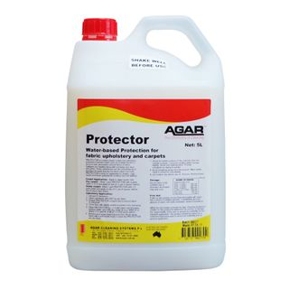 AGAR PROTECTOR WATER-BASED PROTECTION FOR FABRIC UPHOLSTERY & CARPET - 5L