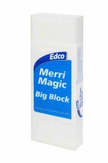 EDCO MERRI MAGIC BIG BLOCK ERASER ( 58054 ) - EACH