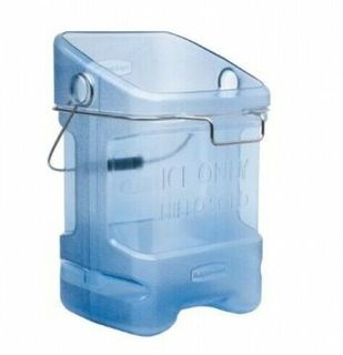 RUBBERMAID SAFETY ICE TOTE WITH BIN HOOK ( RFG9F5400TBLUE ) - EACH