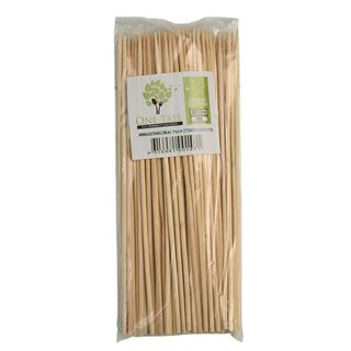 ONE TREE 200MM X 3 MM BAMBOO SKEWERS  - 100 - PKT