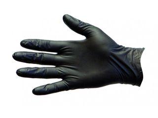 PRO-VAL BLACK DUO PF GLOVES - EXTRA LARGE - BLACK VINYL / NITRILE BLEND - 1000 - CTN