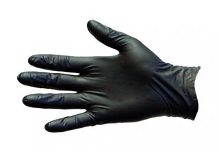 PRO-VAL BLACK DUO PF GLOVES - EXTRA LARGE - BLACK VINYL / NITRILE BLEND - 100 - PKT