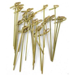 ALPEN 120MM LOOPED END SKEWERS ( CURLY PICK ) - 250 - PKT