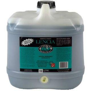 "Citrus Resources "" LENCIA "" Spray & Leave Bathroom Cleaner - 15L"