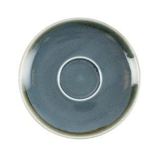 OLYMPIA KILN CAPPUCCINO SAUCER - OCEAN - 160MM DIA - GP349 - 6 - CTN