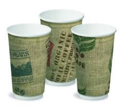 CASTAWAY JUTE CUP DOUBLE WALL  - 8OZ - 25
