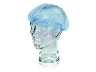"""MEDICOM PP CLIP CAP / BERET 21"""" - BLUE ( MED008044B ) - 100 - PKT"""