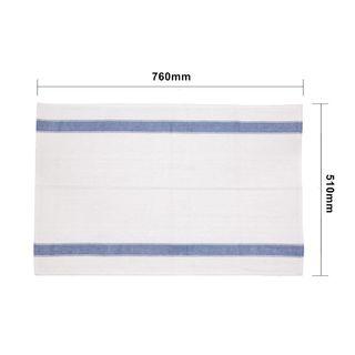 VOGUE HEAVY DUTY TEA TOWEL - BLUE - 762mm L x 508mm W ( E918 ) - EACH