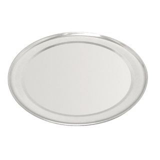"VOGUE ALUMINIUM PIZZA TRAY WIDE RIM 305MM / 12"" ( GE198 ) - EACH"