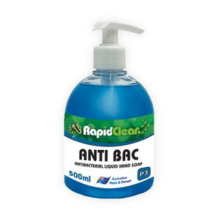 Rapid Clean ANTI BAC (Unperfumed Liquid Hand soap) - 500ml- EACH