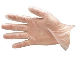 ECOCLEAR VINYL CLEAR POWDER FREE GLOVES - LARGE - 100 - PKT