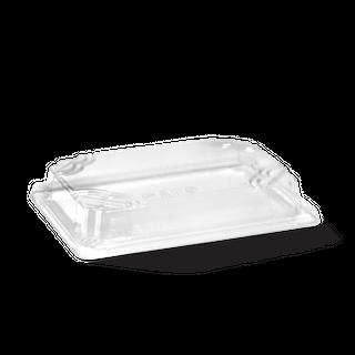 BIOPAK SMALL SUSHI TRAY PLA LID CLEAR - 169X93X32mm - 50 - ( B-STL-SMALL ) - SLV