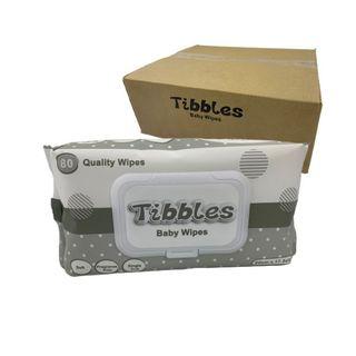 TIBBLES ECONOMY WIPES (SQUIMBLES) (80 X 18PKTS) - CTN