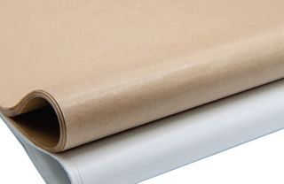 DELI WRAP WHITE 43GSM PE COATED PAPER 400 x 500mm - 1000 - REAM