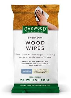 OAKWOOD EVERYDAY WOOD WIPES - 20 PACK