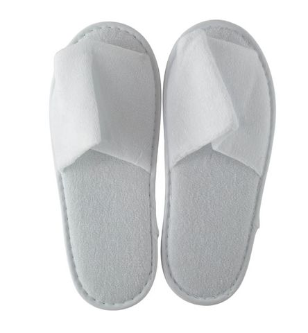 DELUXE TERRY COTTON SLIPPERS -100 PAIRS - CTN