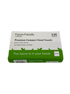 FUTURE FRIENDLY KRAFT PREMIUM COMPACT HAND TOWEL - 2400 - CTN
