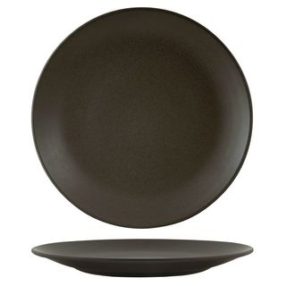 ZUMA CHARCOAL ROUND COUPE PLATE 310MM - 90966 - 9 - CTN
