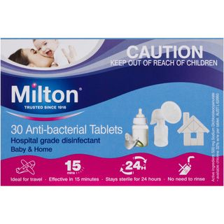 MILTON ANTI-BACTERIAL TABLETS - 30 - PACK