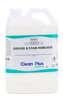 CLEAN PLUS Grease & Stain Remover - Solvent Based - 5L