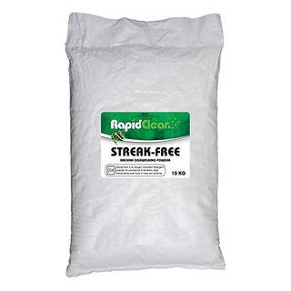 "Rapid Clean "" STREAK FREE "" Machine Dishwashing Powder - 10kg Bag"