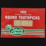 ALPEN ROUND TOOTHPICKS - 460302 -1000