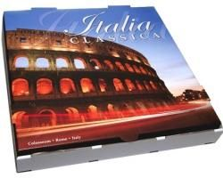"13"" COLOSSEUM PIZZA BOX  - 50 - PKT"