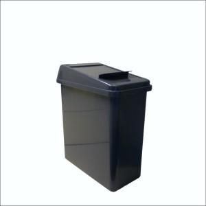 LADY SANITARY BIN - MINI - 12L 170MM W x 310mm D x 345mm H - GREY - BASE ONLY - EACH