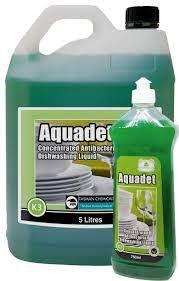 "TASMAN "" AQUADET "" Antibacterial Eco Sink Detergent - Green - 750ML - 12 - CTN"