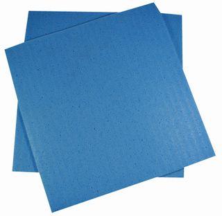 EDCO SPONGE CLOTH SQUARES LARGE - BLUE 305 x 270MM - 18556 - ( 10 x 10 / PACK ) - 100 - CTN