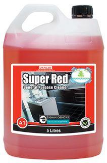 """TASMAN """" SUPER RED """"  General Purpose Cleaner - 5L"""