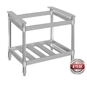 RB-4-SE STAINLESS STEEL STAND WITH SHELF FOR MODEL RB-4 - EACH