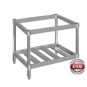 QR-36-SE STAINLESS STEEL STAND WITH SHELF FOR QR-36 / RGT-36 - EACH