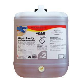 AGAR WIPE AWAY - SPRAY & WIPE DETERGENT - 20L