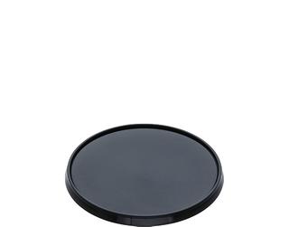 CASTAWAY LOCKSAFE - TAMPER EVIDENT BLACK ROUND LID - 500 -CARTON