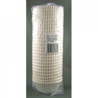 ALPEN MUFFIN CASE - PATTY PANS #700 - WHITE - 55x35mm ( 105700 ) - 500 - SLV