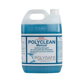 POLYCLEAN MANUAL - FOR HAND WASHING POLYSAFE GLASSWARE - 0399 500 - 5L