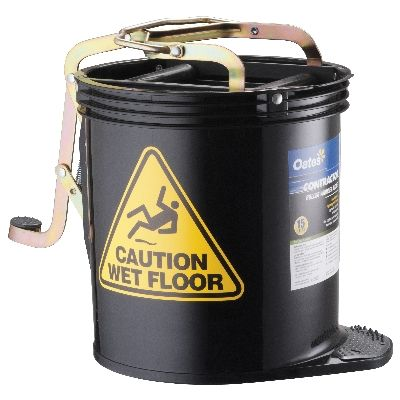 Mop Bucket Wringer Black