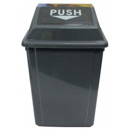 Rectangle Bin Spring Lid 25lt
