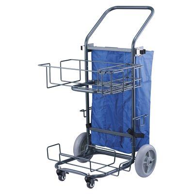 Compact Flat Mop Trolley V2