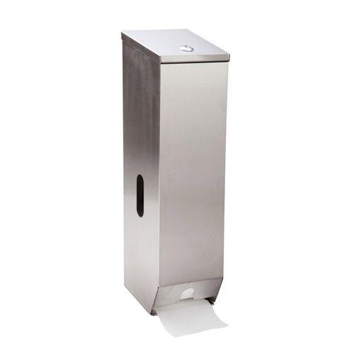 Tripple Toilet Roll Holder S/S