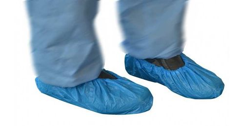 CPE Shoe Cover Blue