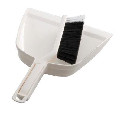 Dustpan & Brush Set White