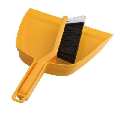 Dustpan & Brush Set Yellow
