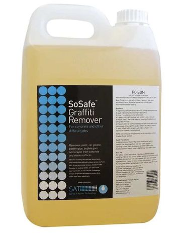 Sosafe Blue - Gel 5 Lt